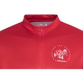 Maloja DomenicaM. All Mountain Maglietta jersey a maniche corte Uomo, red poppy